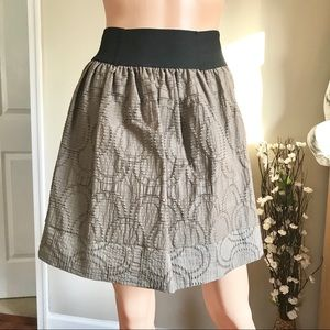 Simply Vera Wang Women's Olive Green Skirt Size M